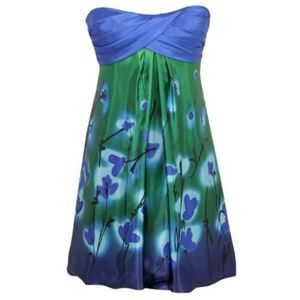 2/$20 or 3/$25 | Blue Floral Cocktail Dress | NWT